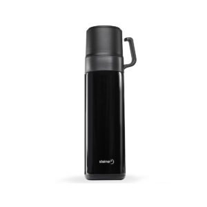 GL-VF60YBL - TERMO DOBLE TAZA COLOR NEGRO 600ML