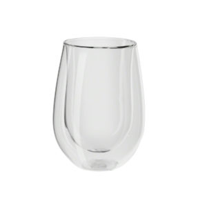 39500-217 - 2 VASOS PARA VINO VIDRIO DOBLE PARED